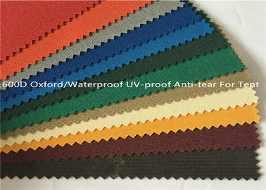 Anti Tear Oxford Fabric Waterproof, Benang - Dicelup UV Proof 600 Denier Oxford Fabric